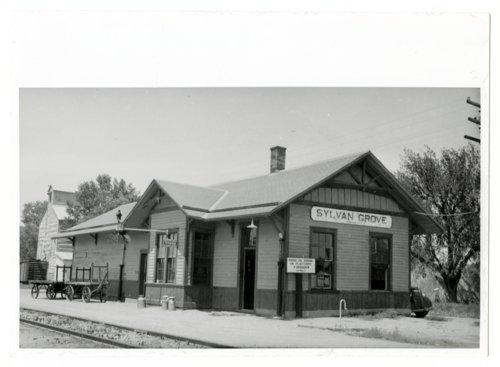 Union Pacific Railroad Company depot, Sylvan Grove, Kansas - Page