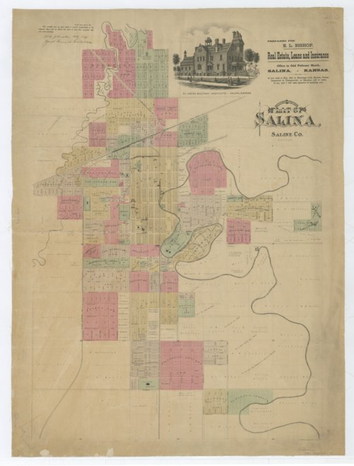 Plat of the City of Salina, Saline County, Kansas - Page