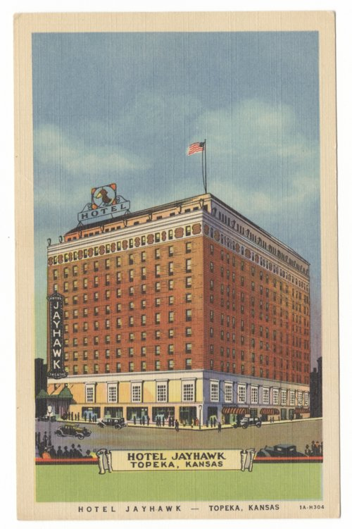 Hotel Jayhawk in Topeka, Kansas - Page
