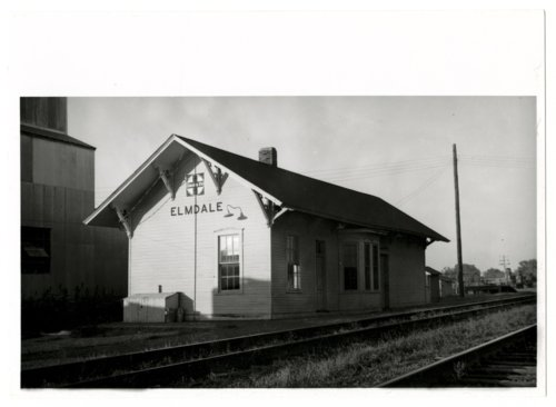 Atchison, Topeka and Santa Fe Railway Company depot, Elmdale, Kansas - Page