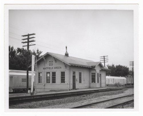 Atchison, Topeka and Santa Fe Railway Company depot, Matfield Green, Kansas - Page
