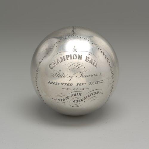 1867 baseball trophy