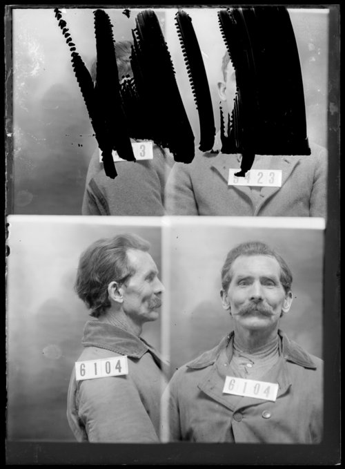 Ben F. McClain, prisoner 6104, Kansas State Penitentiary - Page