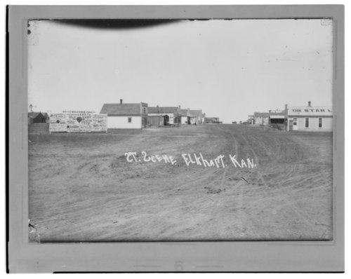 Street scene, Elkhart, Morton County, Kansas - Page