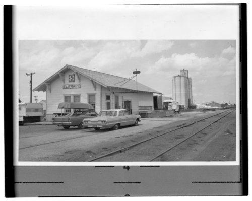 Atchison, Topeka & Santa Fe Railway Company depot, Elkhart, Kansas - Page