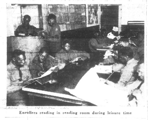 Reading Room, Camp Lake Wellington Civilian Conservation Corps - Page
