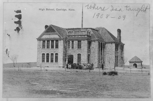 High school building, Coolidge, Hamilton County, Kansas - Page