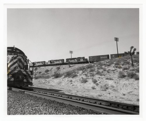 Atchison, Topeka & Santa Fe Railway Company's switch engines, Victorville, California - Page