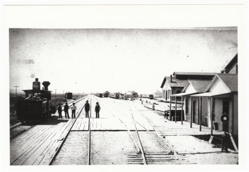 Atchison, Topeka & Santa Fe Railway Company depot, Albuquerque, New Mexico, - Page