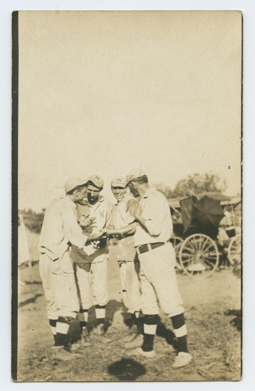 Members of the Westmoreland, Kansas baseball team - Page