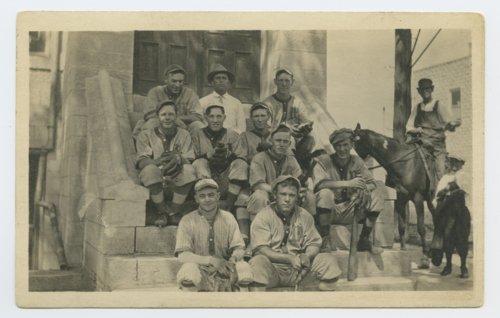 Baseball team in Westmoreland, Kansas - Page
