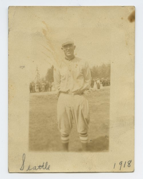 Bert Hart in baseball uniform - Page
