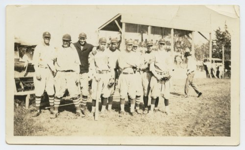 Unidentified baseball team - Page
