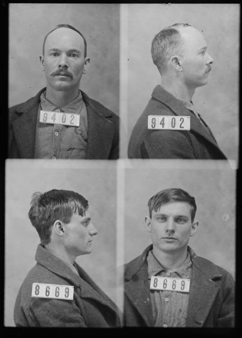 W. G. Skingley and Oscar Roberts, Prisoners 9402 and 8669, Kansas State Penitentiary - Page