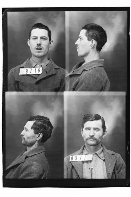 Henry Harmon and C. Simmons, Prisoners 9371 and 8716, Kansas State Penitentiary - Page