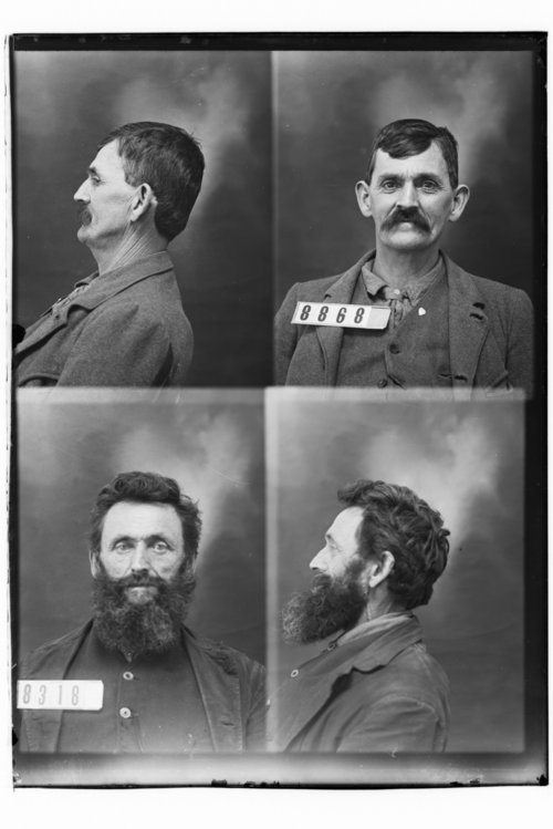 H. H. Hyde and B. Kelcaz, Prisoners 8868 and 8318, Kansas State Penitentiary - Page