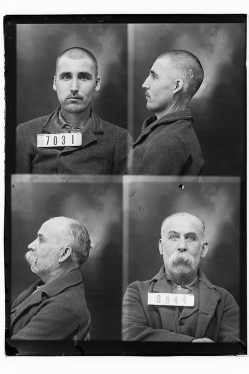 Thos Quigley and George Ellis, Prisoners 8944 and 7031, Kansas State Penitentiary - Page