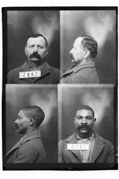 W. Grimmitt and John Yordi, Prisoners 8107 and 2862, Kansas State Penitentiary - Page