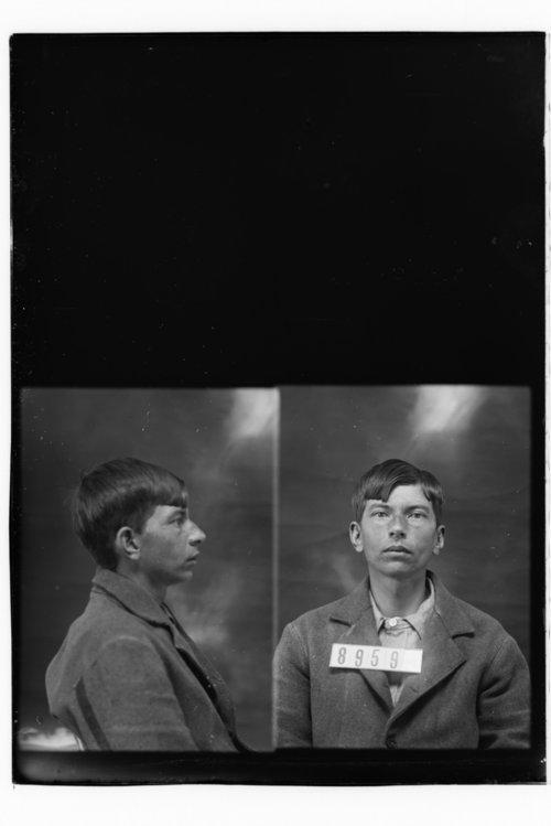 Willis Smith, Prisoner 8959, Kansas State Penitentiary - Page