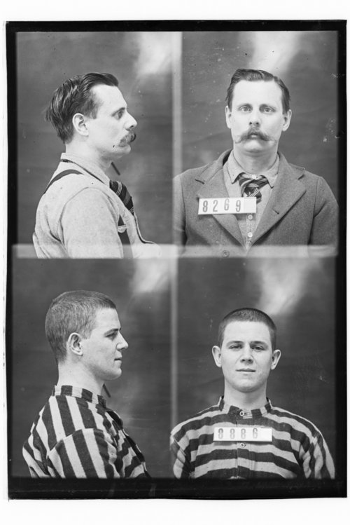 Ralph Shiffer and William Cary, Prisoners 8886 and 8269, Kansas State Penitentiary - Page