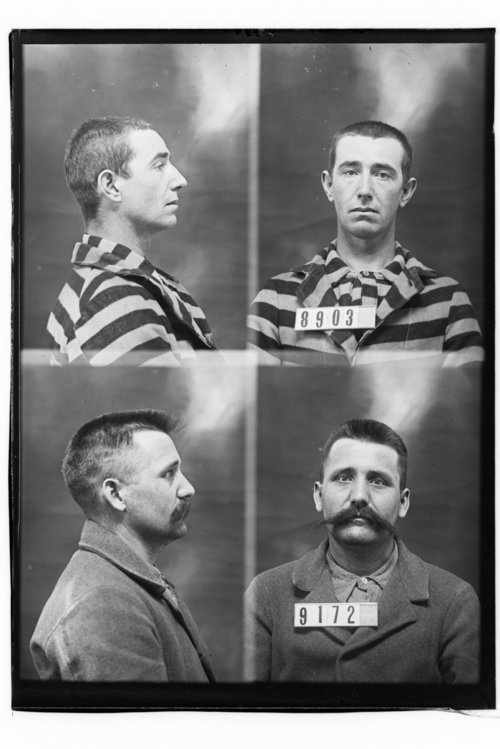 J. W. Scroggins and Chas Curtis, Prisoners 9172 and 8903, Kansas State Penitentiary - Page