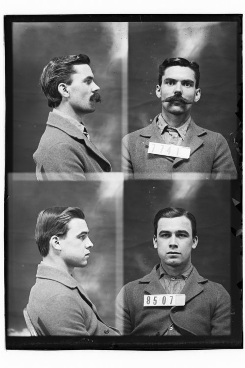 Ezra Burris and James H. Baker, prisoners 8507 and 7741 - Page