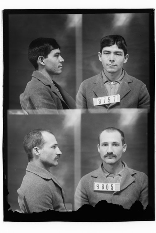 D. S. Viers and Thomas Wind, Prisoners 9605 and 8757, Kansas State Penitentiary - Page