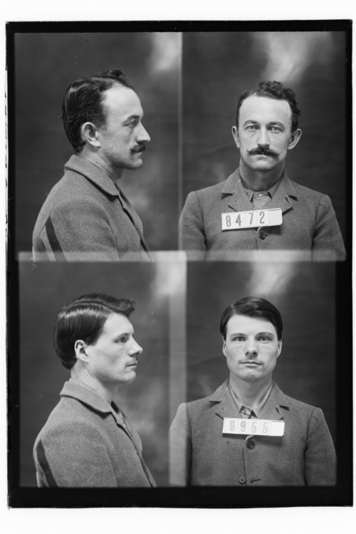 Lee Case and Stonewall Shacklett, Prisoners 8955 and 8472, Kansas State Penitentiary - Page