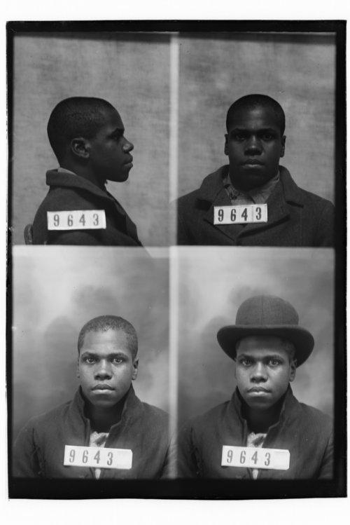 Newton Card, prisoner 9643 - Page