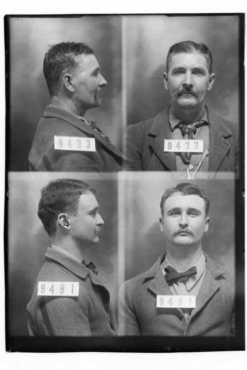 J. E. Martin and Edward Lane, Prisoners 8433 and 9491, Kansas State Penitentiary - Page