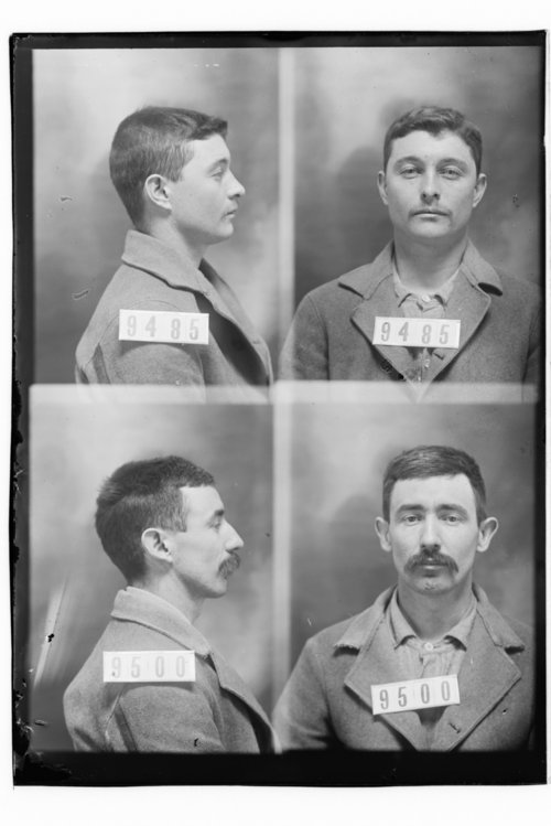 John L. Finley and George W. Sherrow, Prisoners 9485 and 9500, Kansas State Penitentiary - Page