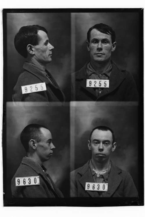 James Hall and E. E. Burns, Prisoners 9255 and 9630, Kansas State Penitentiary - Page