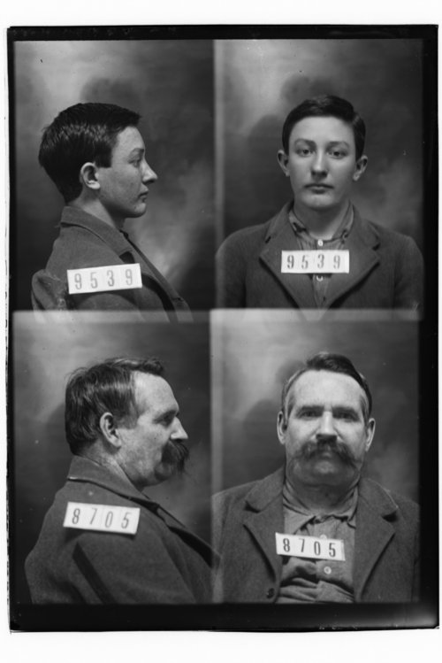 Jesse Hamlin and John W. Crandall, Prisoners 9539 and 8705, Kansas State Penitentiary - Page