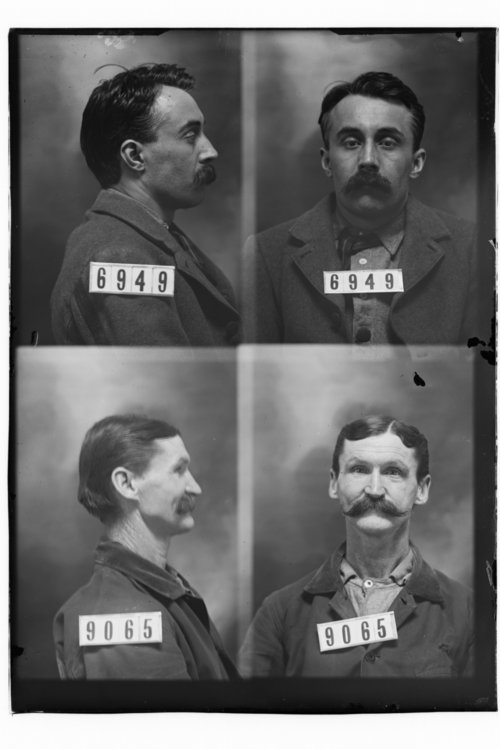 A. B. Treadwell and Phillip Searles, Prisoners 6949 and 9065, Kansas State Penitentiary - Page