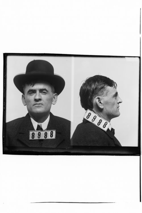 Frank Adams, Prisoner 8988, Kansas State Penitentiary - Page