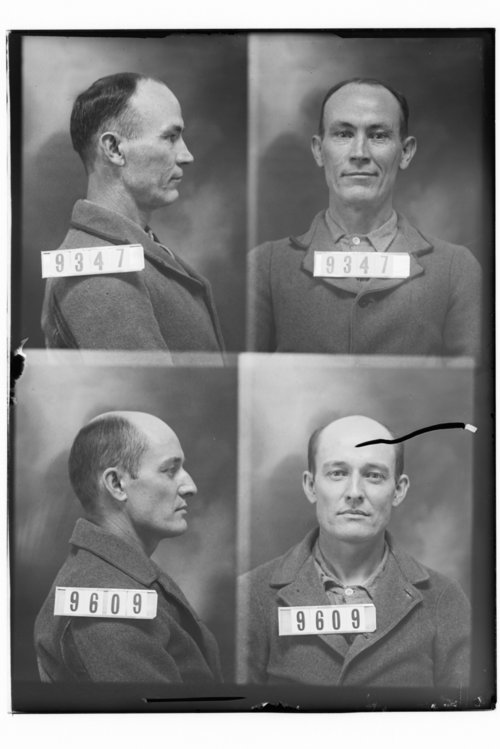 Linn A. Gray and Will Tackett, Prisoners 9347 and 9609, Kansas State Penitentiary - Page