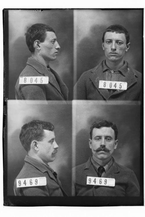 Bert Lockwood and Frank King, Prisoners 8045 and 9469, Kansas State Penitentiary - Page