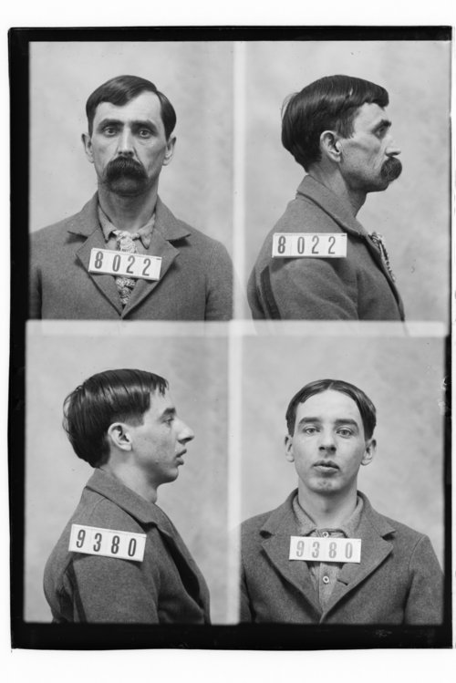 John Steward and C. W. Hunting, Prisoners 9380 and 8022, Kansas State Penitentiary - Page