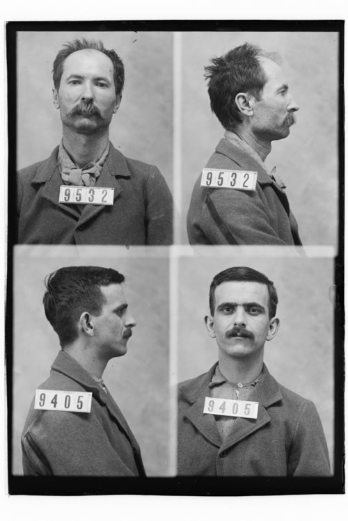 Lawrence Davenport and John Beancleigh, Prisoners 9405 and 9532, Kansas State Penitentiary - Page