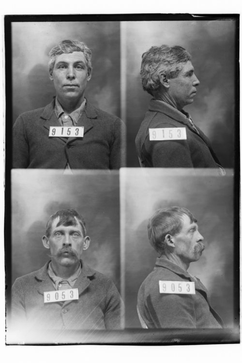 Harvey Rowden and Chas Whittecar, Prisoners 9053 and 9153, Kansas State Penitentiary - Page