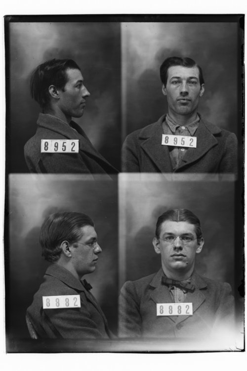 John Henry Collins and Bert Brestler, Prisoners 8882 and 8952, Kansas State Penitentiary - Page