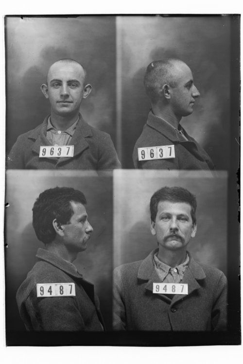 D. S. Ashby and Joseph N. Baker, Prisoners 9487 and 9637, Kansas State Penitentiary - Page