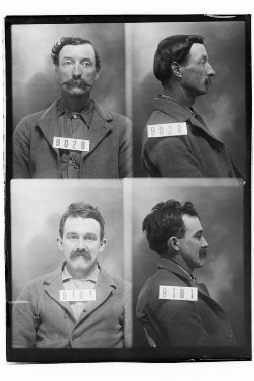 Wm. Guinane and A. H. Frazier, Prisoners 9181 and 9028, Kansas State Penitentiary - Page
