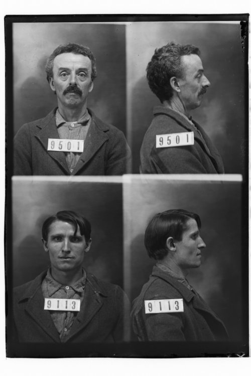 Wm. Jones and Jacob Dicks, Prisoners 9501 and 9113, Kansas State Penitentiary - Page