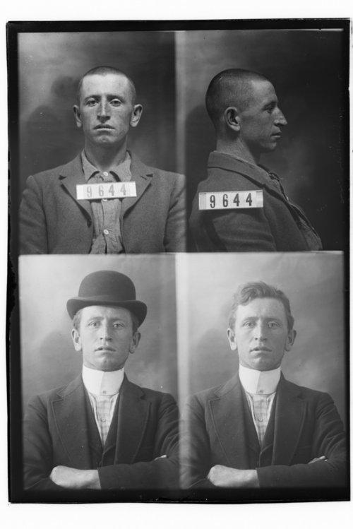 Jas. W. Evans, Prisoner 9644, Kansas State Penitentiary - Page