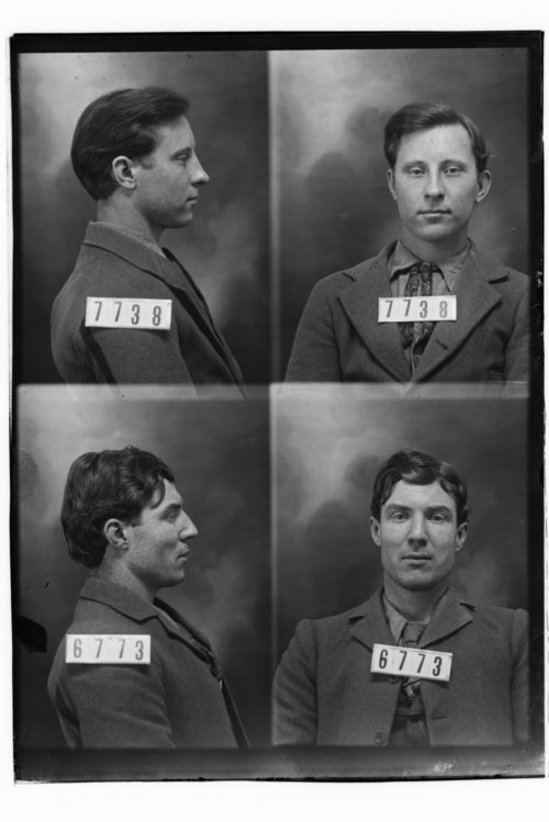 David R. Coulter and Wilbur Norton, Prisoners 7738 and 6773, Kansas State Penitentiary - Page