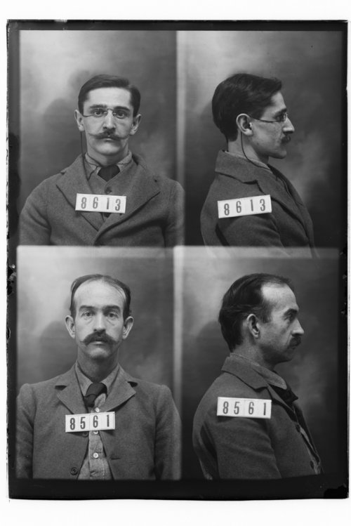 Wilhelm Dietz and Walter Felts, Prisoners 8613 and 8561, Kansas State Penitentiary - Page
