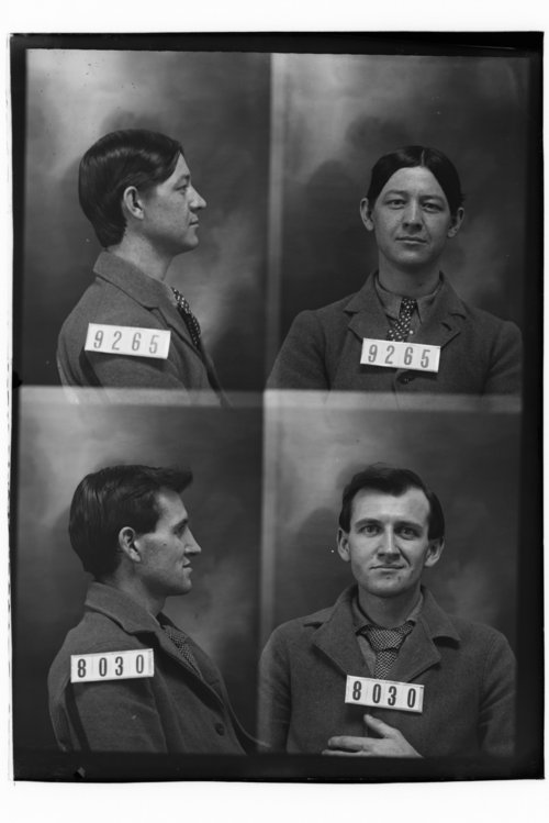Hub Bolinger and Thomas Grannon, Prisoners 9265 and 8030, Kansas State Penitentiary - Page