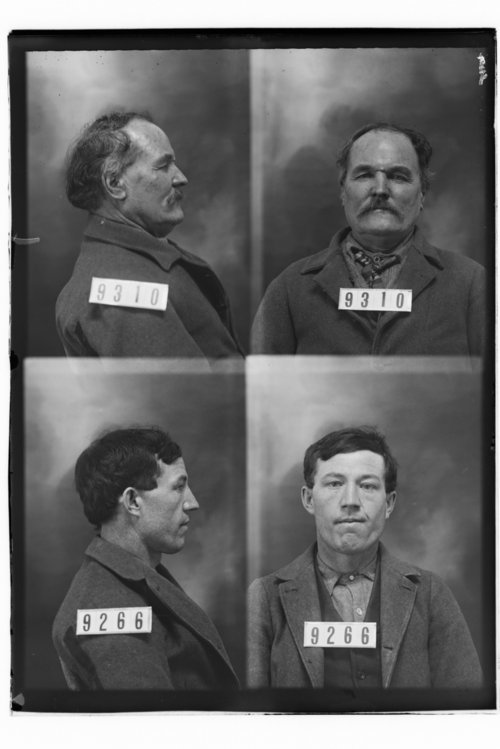 J. M. Henson and Harve Hagler, Prisoners 9310 and 9266, Kansas State Penitentiary - Page