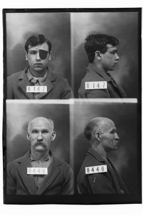 S. M. Connors and Chas. Silverton, Prisoners 8147 and 9440, Kansas State Penitentiary - Page
